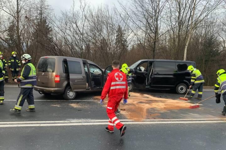 Schwerer Verkehrsunfall in Villach-Zauchen