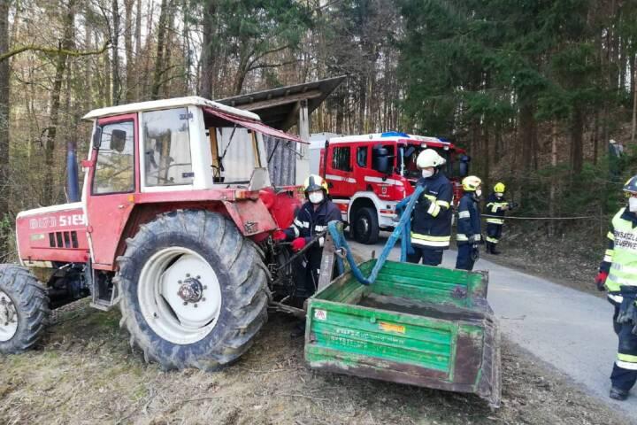 Traktorbergung in Steinberg