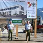 Spatenstich zum Neubau der Bezirks-Feuerwehreinsatzzentrale