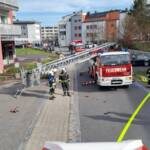 Zimmerbrand im Hochhaus