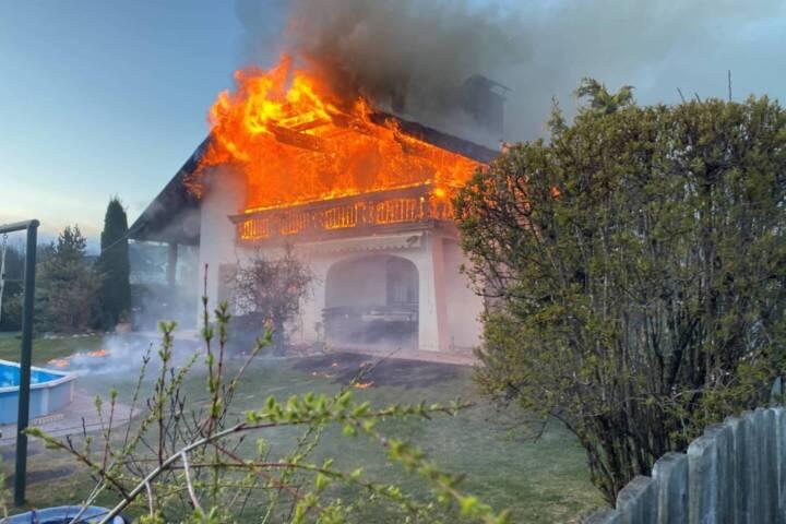 Wohnhausbrand in Villach