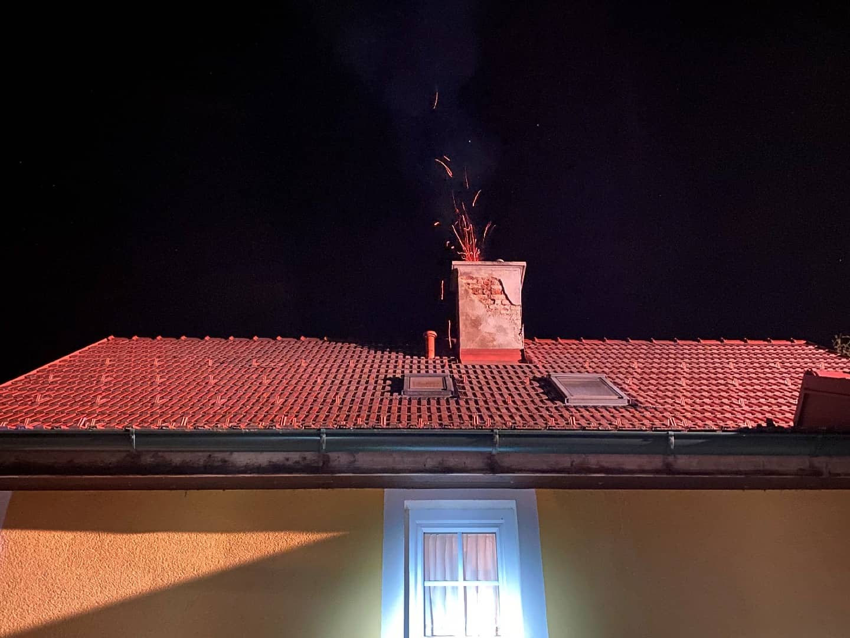 Kaminbrand in Mogersdorf