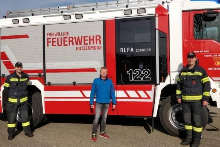 Prüfung für Feuerwehrführerschein erfolgreich absolviert