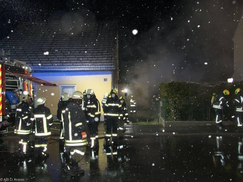 Nächtlicher Brandeinsatz in Schrems