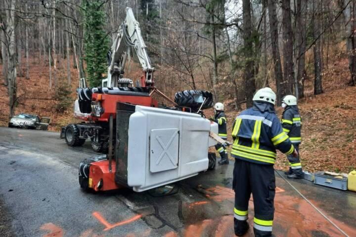 Verkehrsunfall in Bad Gams