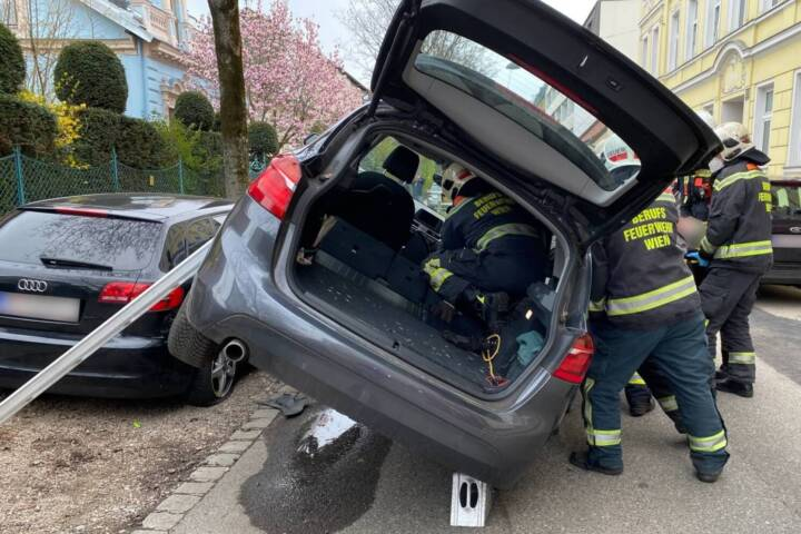 Verkehrsunfall in Wien - Penzing