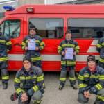 Erfolgreiches Wochenende für die Feuerwehr