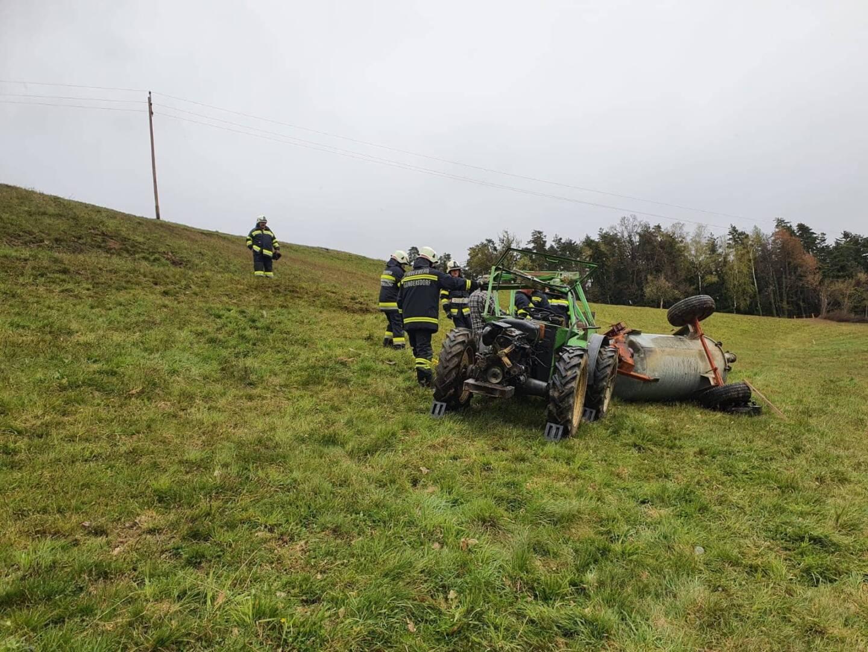 Tödlicher Traktorunfall in Gundersdorf