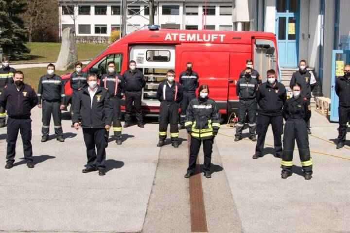 14 Atemschutzgeräteträger in Gmünd ausgebildet