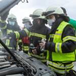 Fahrzeugbrand in Gedersdorf durch Fahrer selbst verhindert