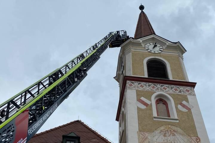 Sturmeinsätze in Wiener Neudorf
