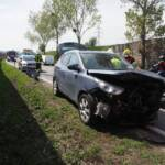 Verkehrsunfall durch missglücktes Wendemanöver