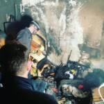 Kellerbrand in Mehrparteienhaus