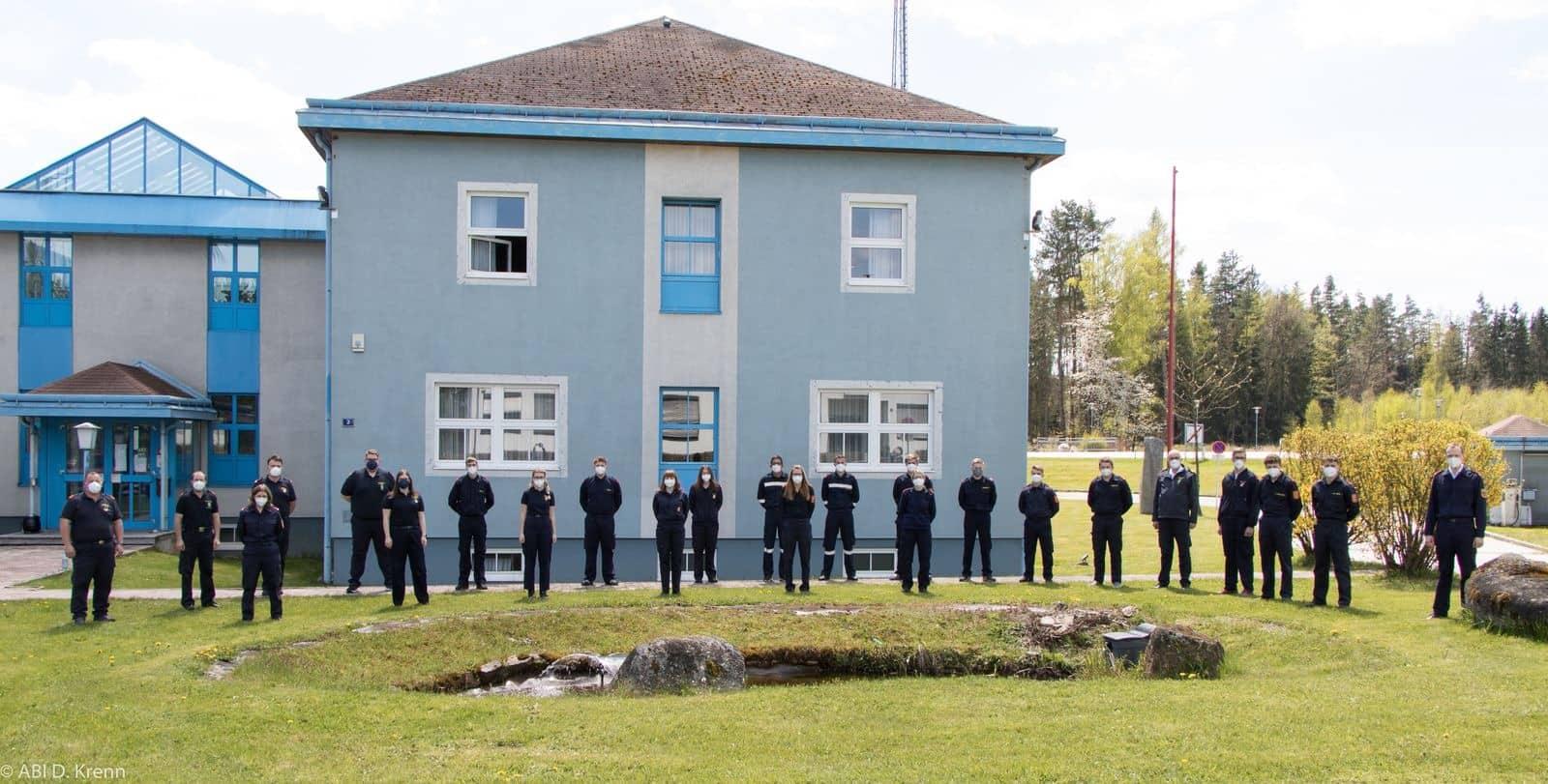 16 Feuerwehrfunker in Gmünd ausgebildet