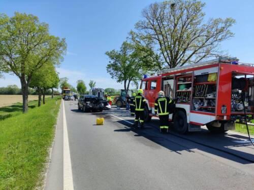 BFKDO Jennersdorf: Verkehrsunfall mit verletzten Personen