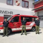 Neues Einsatzfahrzeug der FF Mogersdorf-Ort