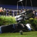 Schwererer Verkehrsunfall auf der B137
