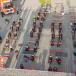Florianifeier mit Fahrzeugweihen