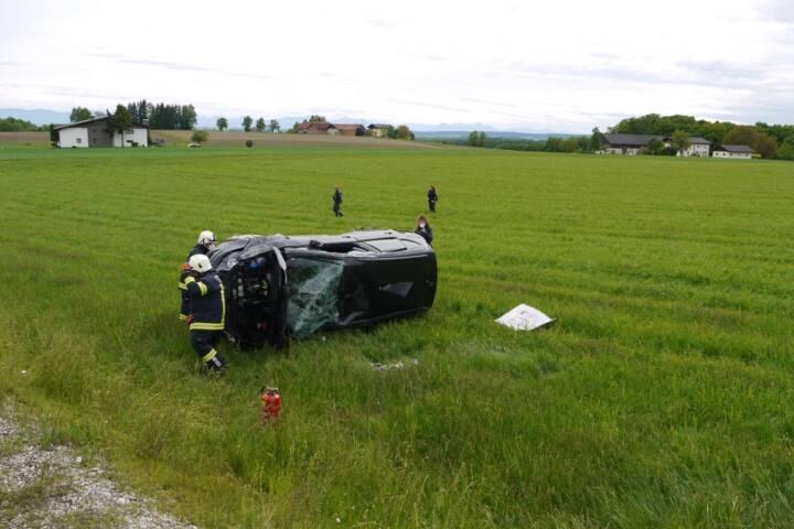 Verkehrsunfall am Pfingstmontag