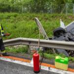 Verkehrsunfall auf der B37