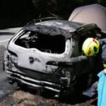 Fahrzeugbrand auf der B69