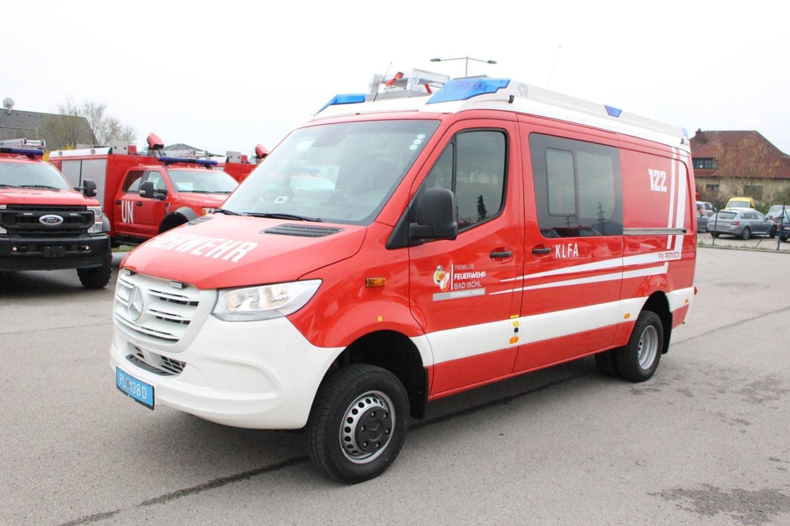 Neues KLF-A für die Feuerwache Perneck