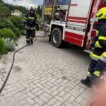 Küchenbrand in Kresbach