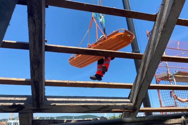Bauarbeiter abgestürzt in Wien - Ottakring