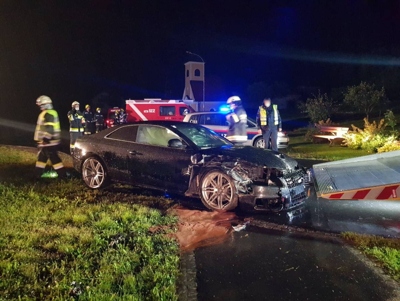 Verkehrsunfall in Graschach