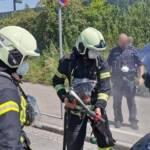 Fahrzeugbrand am Niedermarkt
