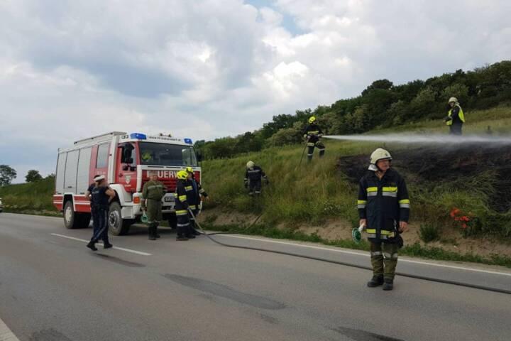 Flurbrand in Rottersdorf