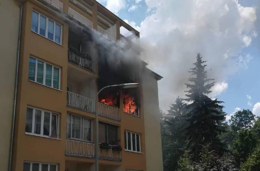 Zimmerbrand in Wien – Meidling
