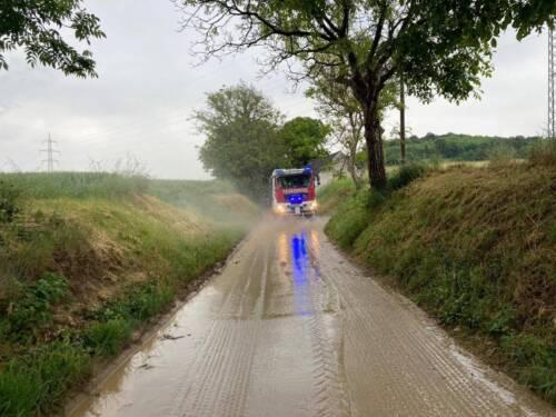 Massives Hagelunwetter über Fladnitztal