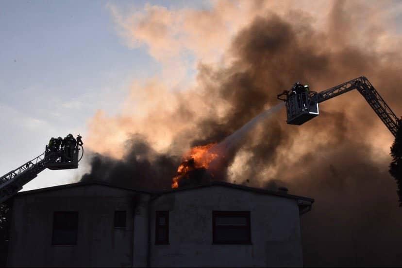 Feuerwehr im Prater im Großeinsatz