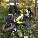 Motorradunfall auf der B60