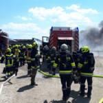 Großbrand in Kleinhain