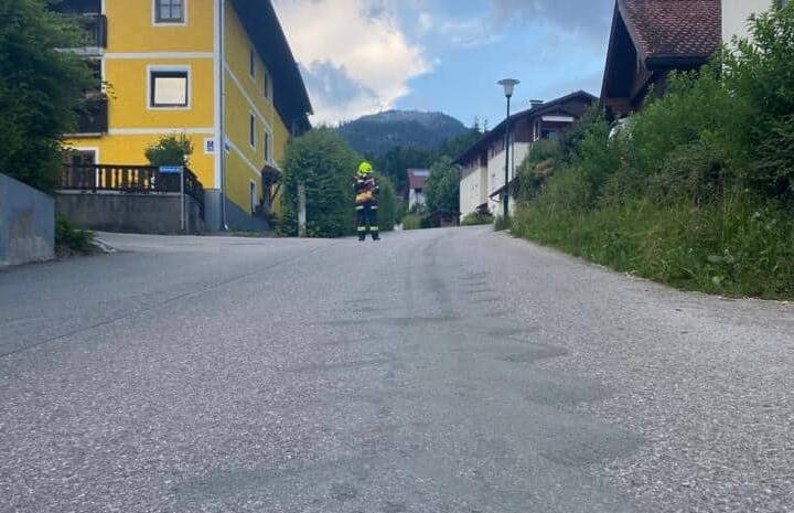 Ölspur Hütterweg bis Rosenkranzgasse