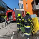 Mülltonnenbrand im Stadtteil Seebach Wasenboden