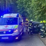 Verkehrsunfall mit Mopedauto