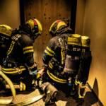 Übung: Vermisste Personen bei Zimmerbrand in Beherbergungsbetrieb