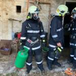 Sechs Feuerwehren übten mit Atemschutz