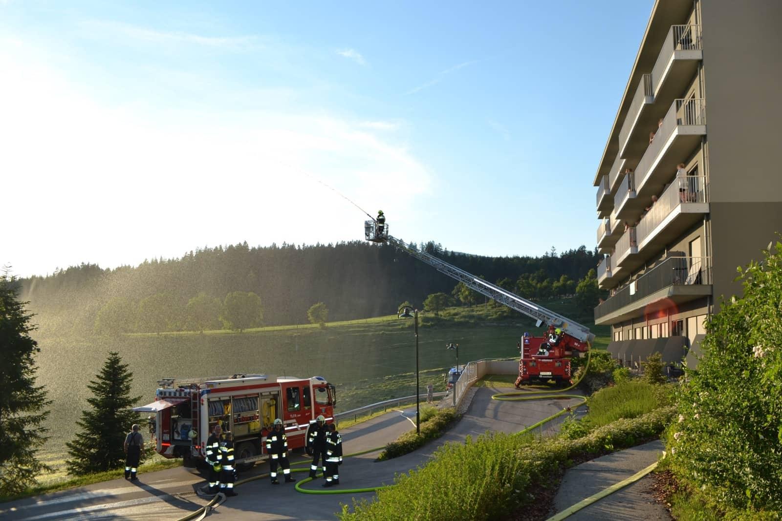 FF Althofen: Vier Feuerwehren übten gemeinsam