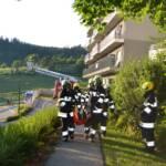 Vier Feuerwehren übten gemeinsam