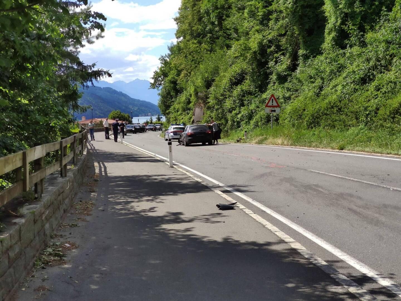 Verkehrsunfall auf der B98