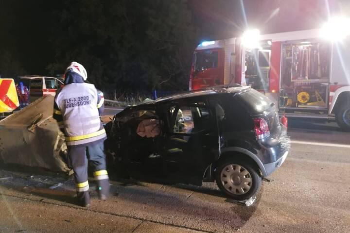 Tödlicher Verkehrsunfall auf der A2