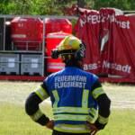 Erneut Waldbrand im Föhrenwald