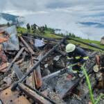 Großbrand auf Millstätter Alpe