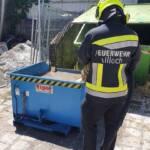 Gasflaschenbrand in Villach