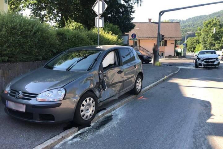 Verkehrsunfall B76 in Bad Schwanberg