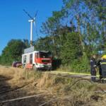 Feld- und Strohtristenbrand in Siegersdorf
